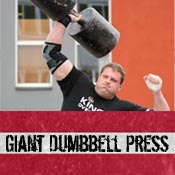 giant dumbbell press